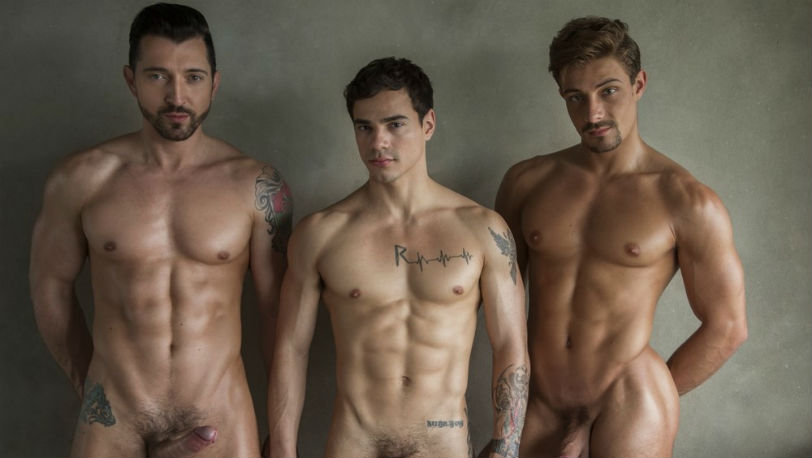 "Levi Karter, Carter Dane and Jimmy Durano in ""Just Love"" part 4 from CockyBoys"