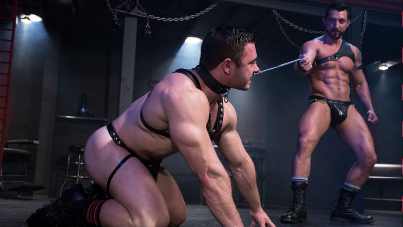 Derek Bolt kneels eagerly for his boss Jimmy Durano at Hot House