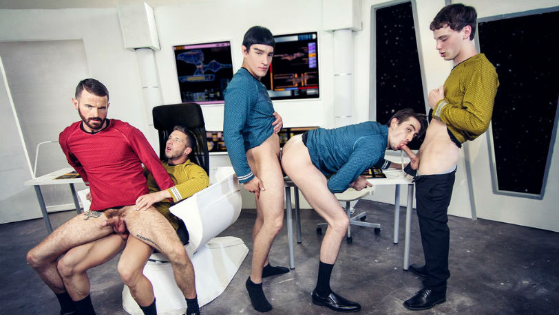 Coming Soon: Star Trek : A Gay XXX Parody from Men.com