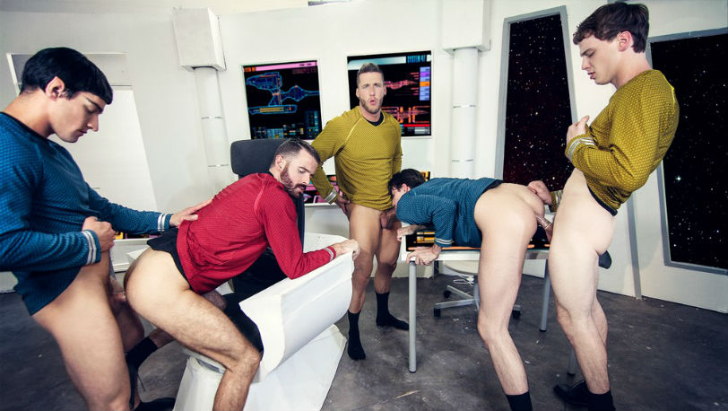 Star Trek :To boldly Fuck where some gay's haven't fucked before at Men.com
