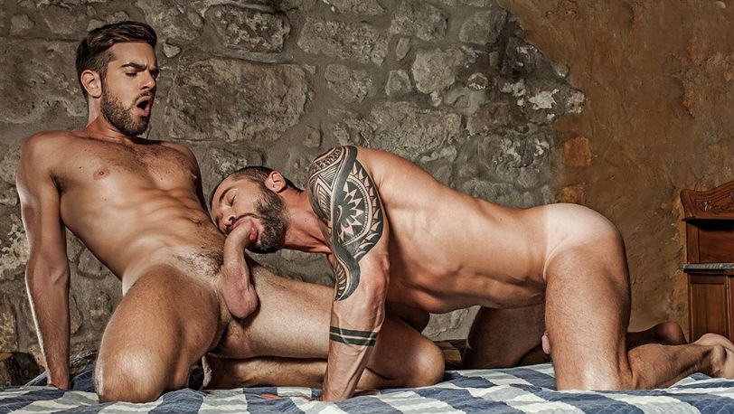 Zander Craze gives Tyler Berg a rough and raw ride at Lucas Entertainment
