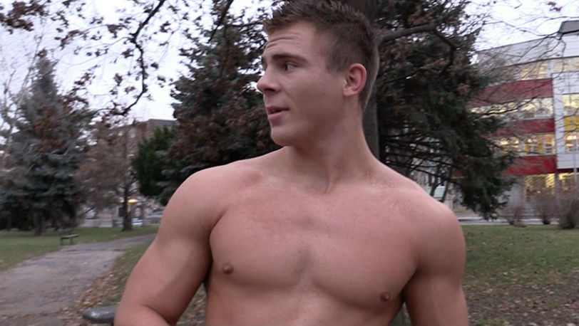 Hot Buff fitness instructor need some extra cash at Czech Hunter
