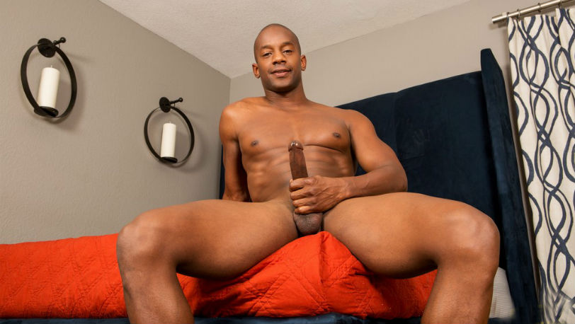 Jermaine loves playing with his hole at Sean Cody
