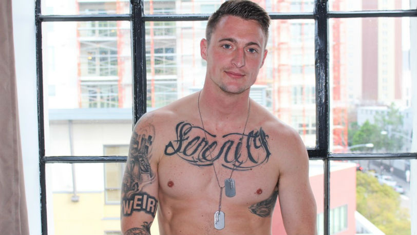 Dane Stewart is hot, horny, handsome, and HUNG - Active Duty