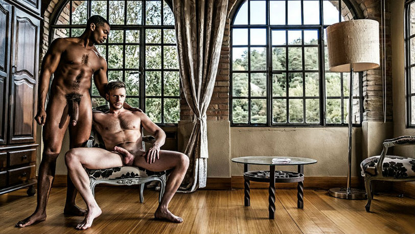 "Brian Bonds and Sean Xavier in ""Breeding Prince Charming"" from Lucas Entertainment"