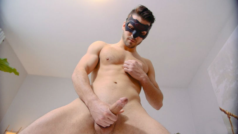 The new paperboy Zack Stock keeps on teasing at Maskurbate