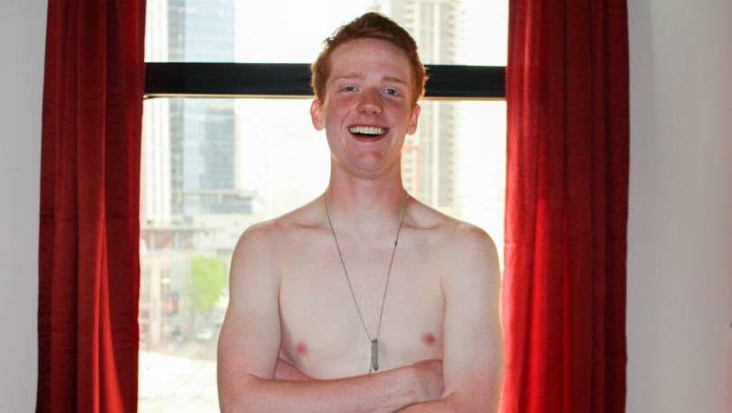 Sexy ginger Edward Teach doesn't stop at one cum load at Active Duty