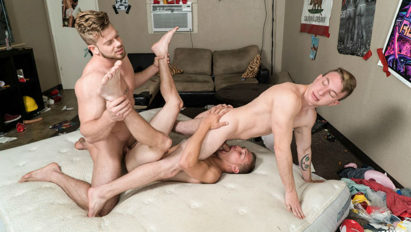 "Miles Taylor, Ryan Sparks and Elye Black in ""Peepers"" from Reality Dudes"