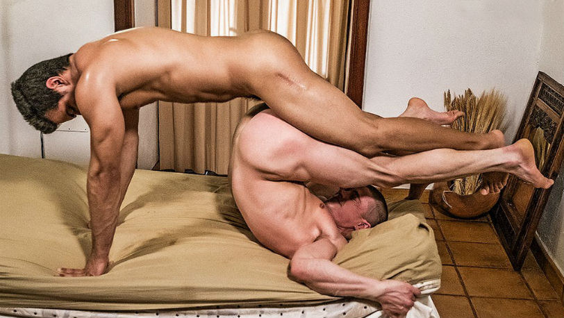 Ruslan Angelo makes his bareback debut wit Rico Marlon at Lucas Entertainment