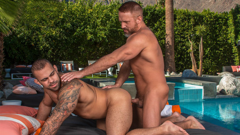 "Dirk Caber and Lorenzo Flexx in ""Cum Laude"" part 4 at Titan Men"