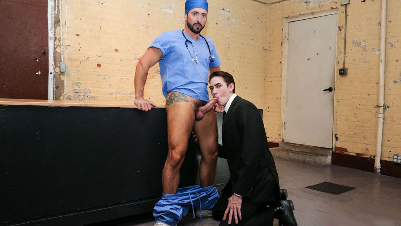"Jack Hunter and Jimmy Durano in ""Dangerous Days"" part 2 from Men.com"