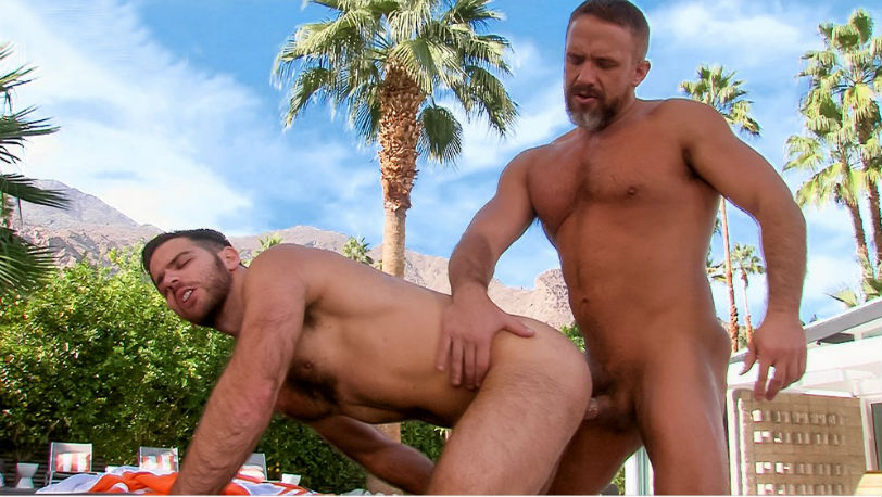 "Jackson Grant and Dirk Caber in ""Cum Laude"" from Titan Men"