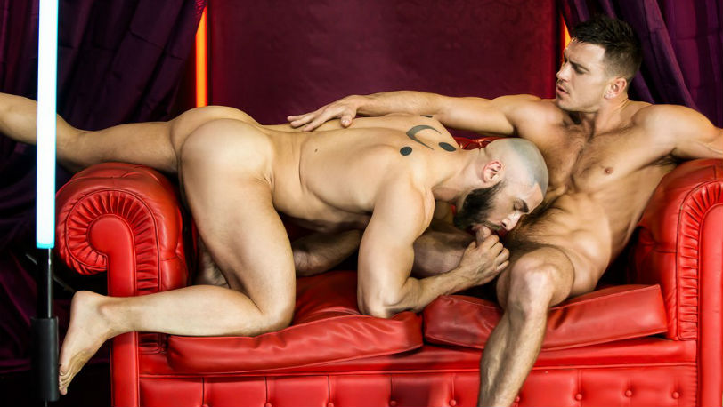 "Francois Sagat and Paddy O'Brian in ""Dream fucker"" part 1 from Men.com"
