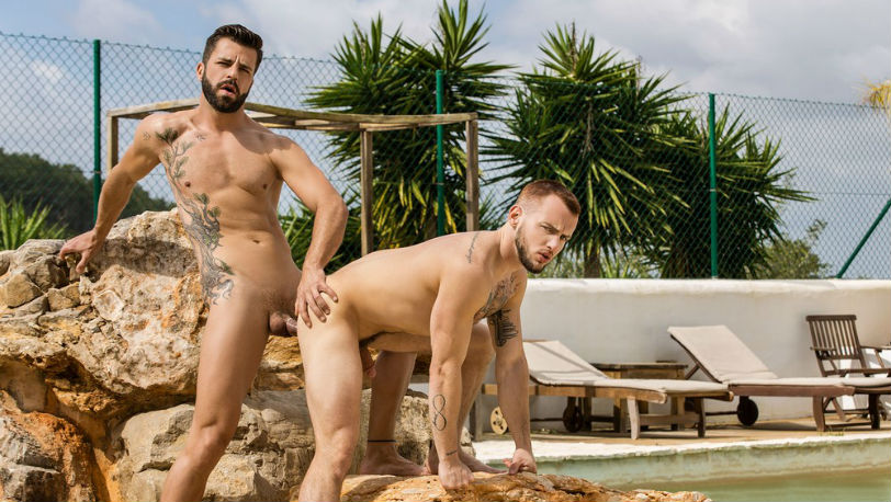 "Hector De Silva and Colton Grey in ""Incomparable"" from Men.com"