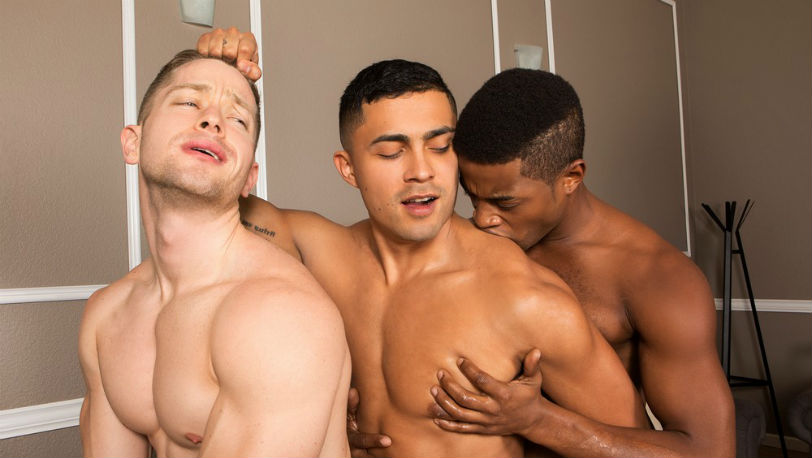 A hot threesome with Landon, Deacon and Asher at Sean Cody