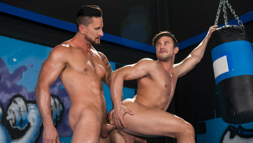Dakota Rivers gets Josh Conners primed and ready for some hardcore fucking at Hot House