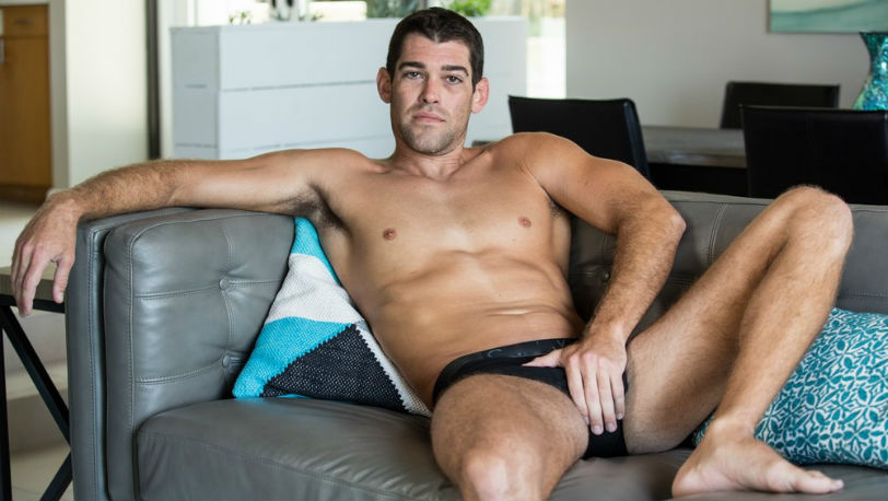 Trevor Bigg is a fitness professional with a ripped body and a nice cock at Next Door Studios