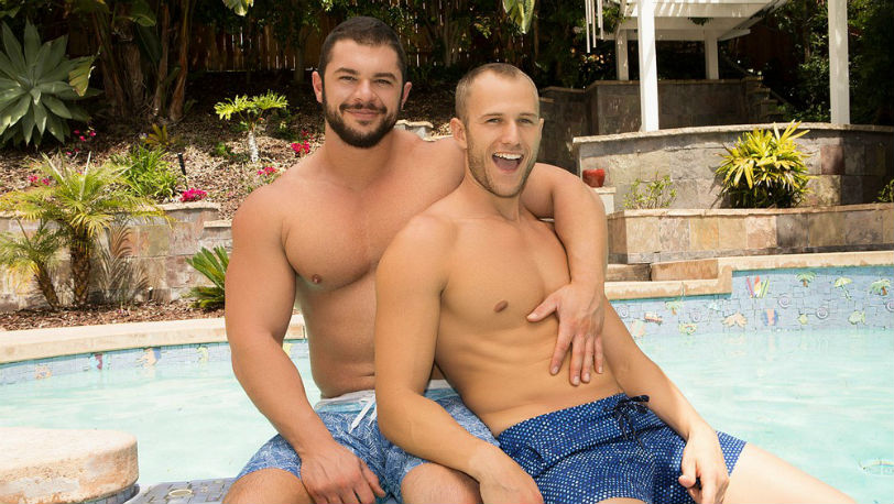 Blake has a great ass, so Arnie takes full advantage of it at Sean Cody
