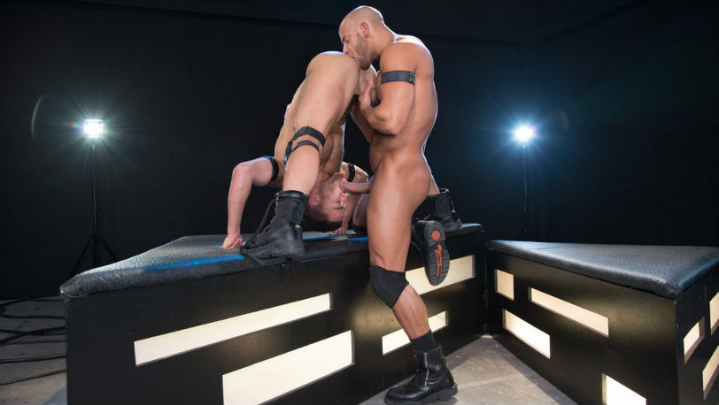 "Beaux Banks begs for Sean Zevran to fuck him in ""Dark Matter"" from Hot House"