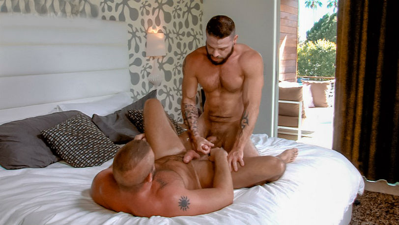 "Hunter Marx and Tex Tex Davidson fuck in ""Swap"" part 3 at Titan Men"
