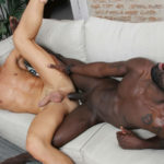 Peter Conner thrusts his raw, monster cock deep within Mikel Duke's ass at kristen Bjorn