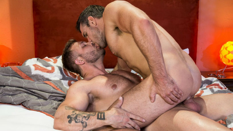 "Austin Wolf slams Alex Mecum's fuck hole in ""The Fixer"" part 1 ffrom Hot House"
