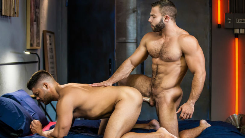 "Diego Reyes fucks Nicolas Brooks in ""The Boy Is Mine"" part 2 from Men.com"