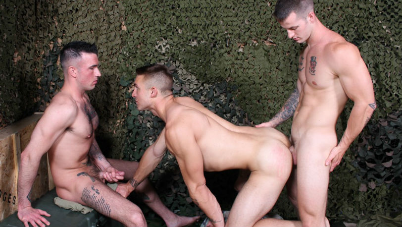 Ripley Grey and Quentin Gainz obey every word that spews out of Jay's mouth at Active Duty