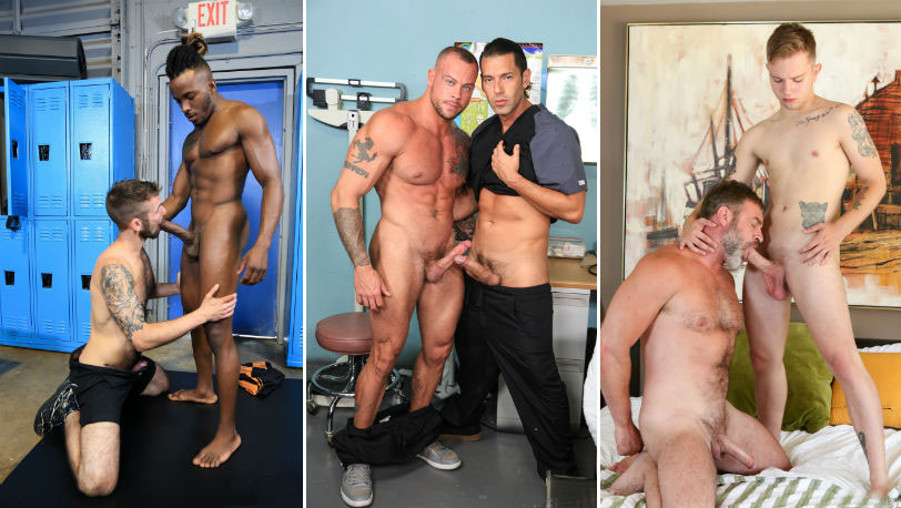 This week's Pride Studios updates starring : Sean Duran, Chris Harder, Timothy Drake and more