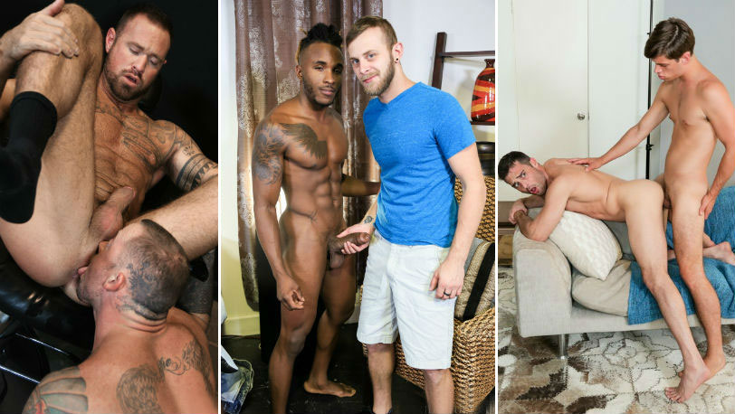 This week's Pride Studios updates starring : Lance Hart, Chandler Scott, Sean Duran and more