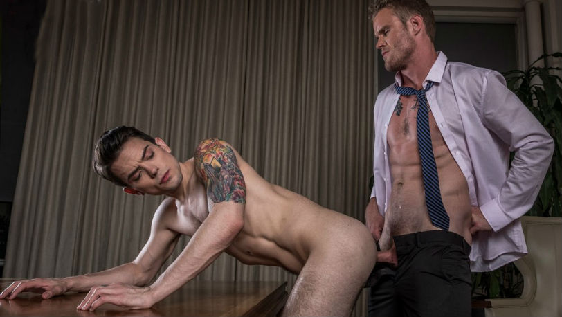 "Dakota Payne gets fucked by Shawn Reeve in ""Gentlemen : Top Management"" at Lucas Entertainment"