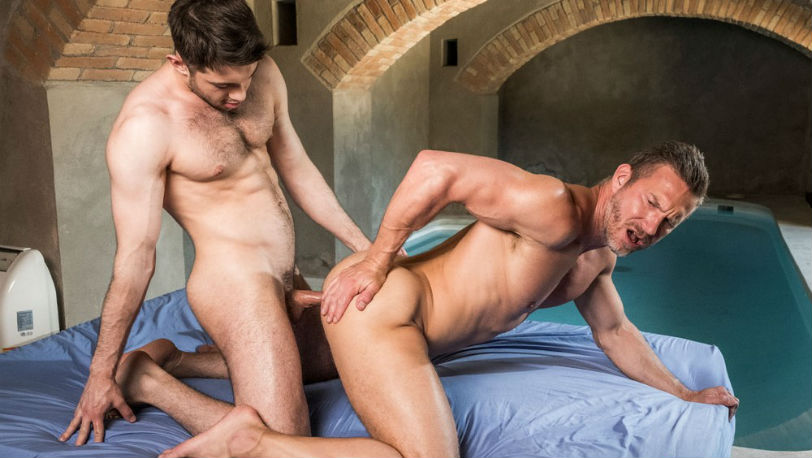Ben Batemen and Tomas Brand in a very hot raw flip-fuck at Lucas Entertainment
