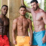 "Billy Santoro, Klim Gromov & Pheonix Fellington in ""Eager To Please"" from Lucas Entertainment"