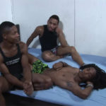 Arthur West, Ciroc Star, Domino Star and Taz Alexanders in a hot foursome at CocoDorm