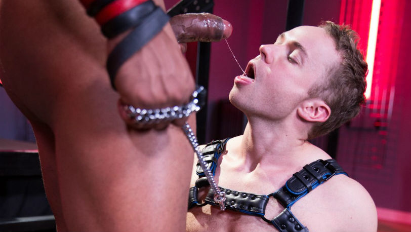 Jason Vario has his pup Gabriel Cross on a tight leash in 'Skuff: Dog House' part 5 from Hot House