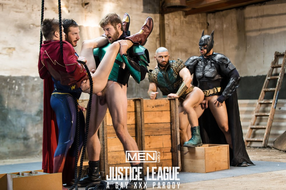 justice league orgy
