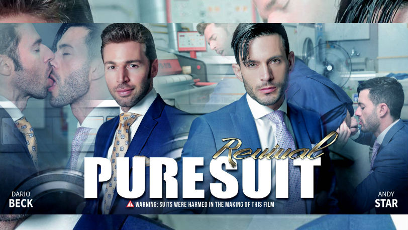 "Andy Star makes sure Dario Beck gets a star treatment in ""Pure Suit"" from Men at Play"