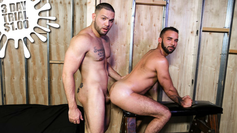 "Julian Knowles and Fernando Del Rio in ""Playroom Surprise"" from Pride Studios"