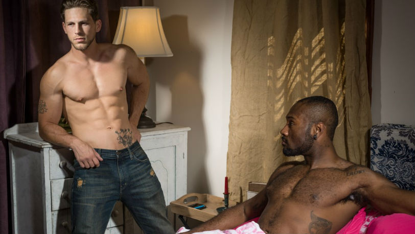 "Noah Donovan and Roman Todd in ""Claiming His Sister's Lover"" from Icon Male"