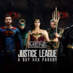 "Paul Canon, Ryan Bones and Manuel Skye in ""Justice League : A Gay XXX Parody"" part 3 at Men.com"