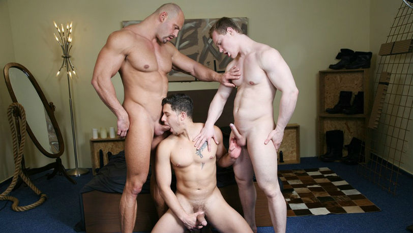 "Nicoli Cole, Jan Bavor and Tomas Friedel in ""The Boyfriend"" from Kristen Bjorn"