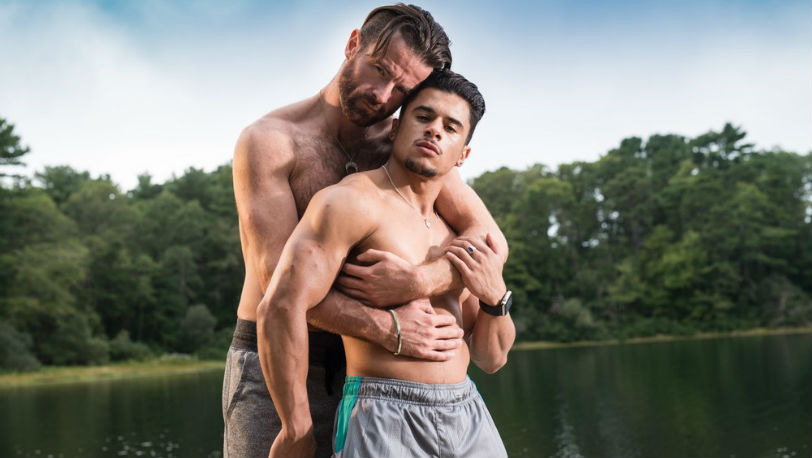 "Sexy Daddy Brendan Patrick and Armond Rizzo in ""Bedding The Shy Guy"" from Icon Male"