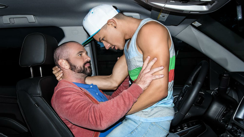 """Ethan Slade and Ethan Ayers in """"How I Fucked Your Father"""" part 2 from Men.com"""