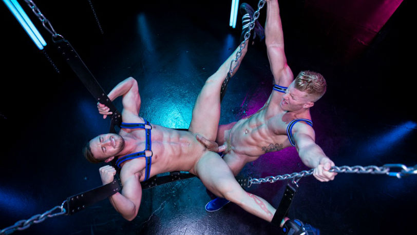 "Johnny V & Josh Conners find each other in a dark part of a club in ""Get Lit"" part 2 from Hot House"