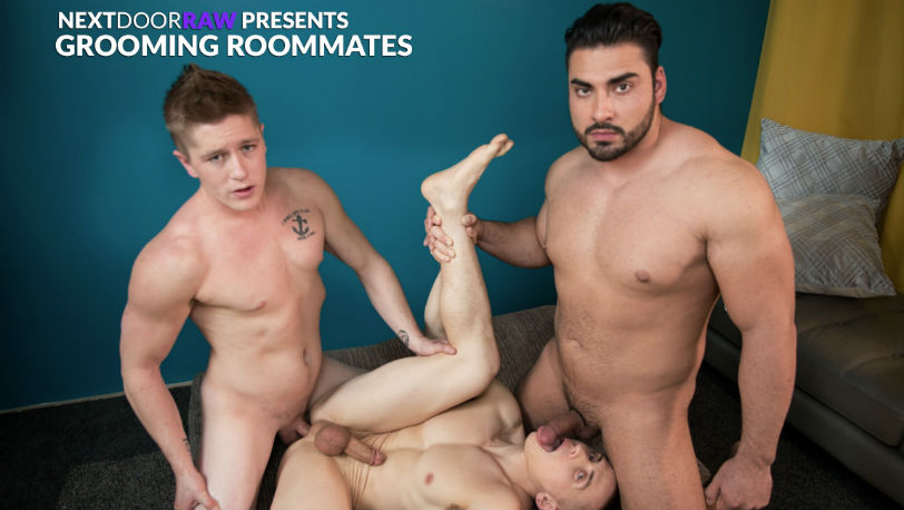 "Dante Martin, Chris Blades and Derek Wulf in ""Grooming Roommates"" from Next Door Raw"