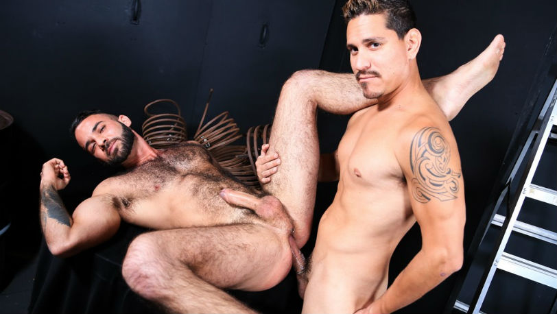 "Fernando Del Rio gets fucked hard by Lex Sabre in ""Can You Take It All"" from Pride Studios"