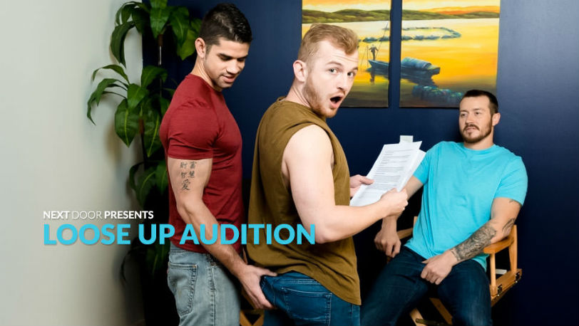 "Mark Long, Archer Hart and Jason Richards in ""Loose Up Audition"" from Next Door Studios"