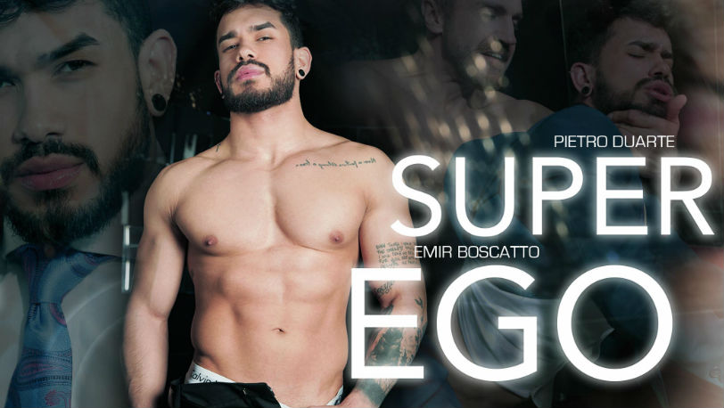 "Pietro Duarte gets fucked balls deep by Emir Boscatto in ""Super Ego"" from Men at Play"