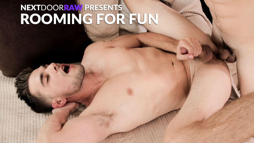 "Princeton Price and Quentin Gainz flip-fuck RAW in ""Rooming For Fun"" from Next Door Raw"