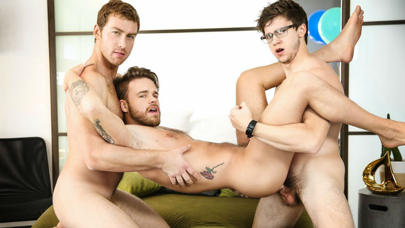 "Connor Maguire is cheating on Will Braun with Max Wilde in ""Watch Me Cheat"" from Men.com"